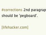 Keep This Site's Typos, Grammar, and Other Mistakes in Check at #corrections