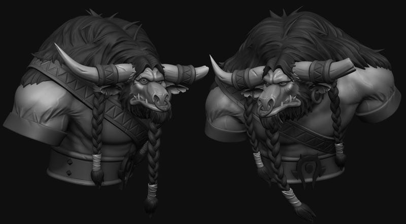 The Art of a Man Working on Blizzard's Next MMO
