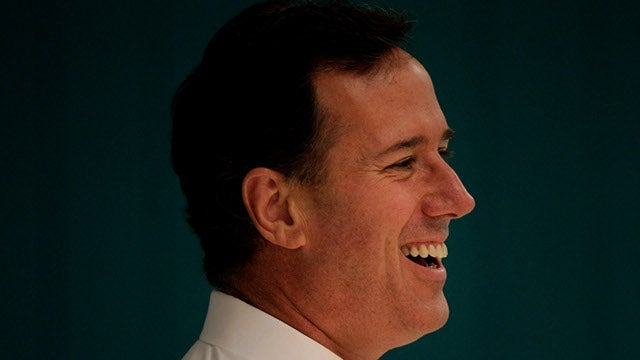 Rick Santorum: And I Am Telling You, I'm Not Going