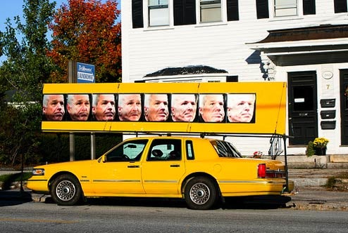The Best And Worst McCain Vs. Obama Get-Out-The-Votemobiles