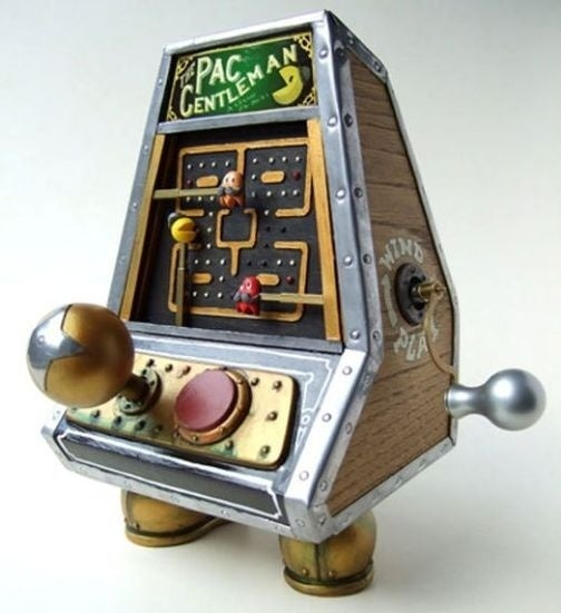Steampunk Pac-Man