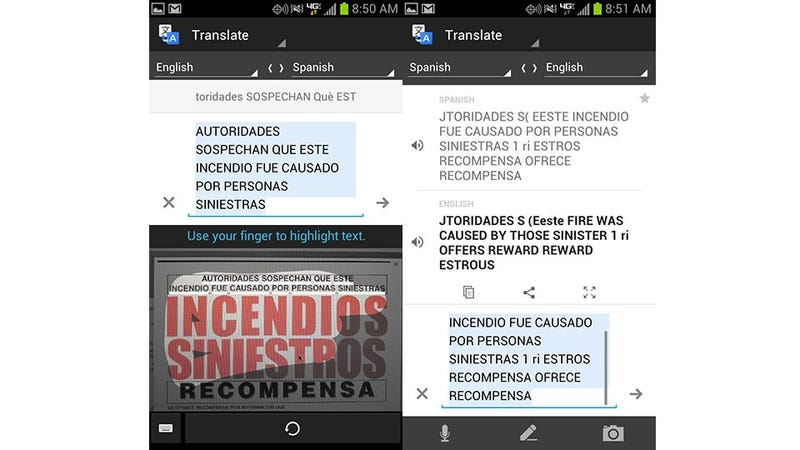 Google Translate for Android Can Read Pictures in Foreign Languages Now