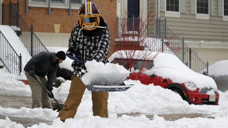 Winter Is Wealth Wonderland for Snow Shoveling Teens