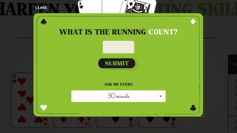 This Website Can Teach You to Count Cards Like an MIT Math Genius