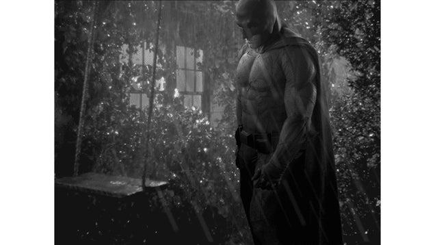 The New Batman Sure Looks Sad