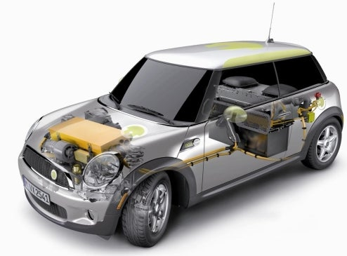 MINI E Electric Mini Re-Revealed, Now With Technical Images