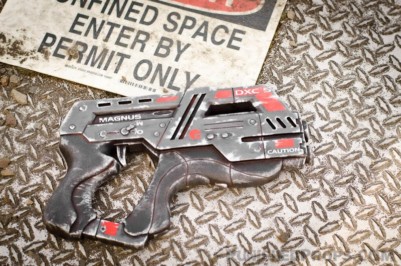 In Case You've Ever Wanted to Own One of Mass Effect 3's Punchy Heavy Pistols
