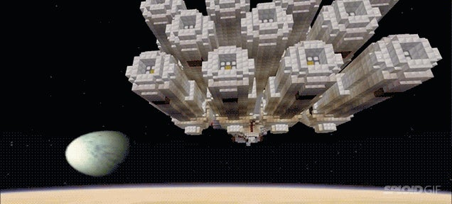 Some really crazy people made the entire Star Wars movie in Minecraft