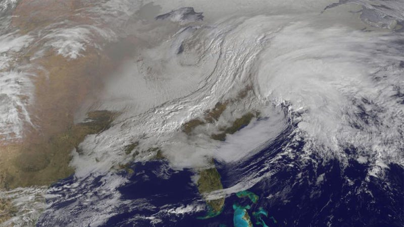 Here Comes the Snowpocalypse From Space