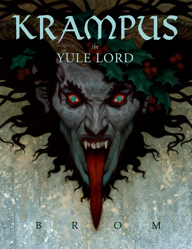 An Exclusive First Look at Brom's New Dark Fantasy Book — Featuring Krampus, the Christmas Devil!