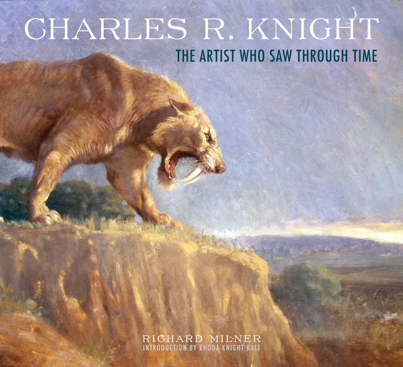 Celebrating Charles R. Knight, the artist who first brought dinosaurs and megafauna to life