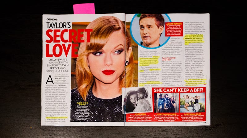 The Taylor Swift/Snapchat Romance Rumor Will Not Die