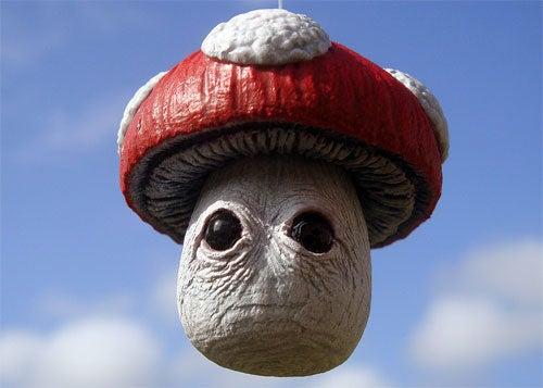 This Super Mario Bros. Mushroom May Be *Too* Realistic