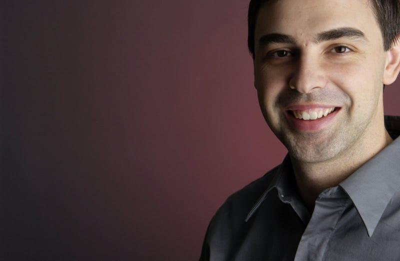 Larry Page explica por fin qué sucede con su voz