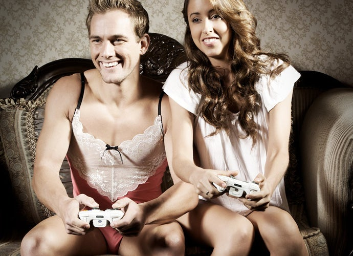 This Is How You Use Video Games To Sell Men's Lingerie