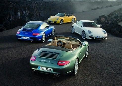 2009 Porsche 911 Adds XM, NavTraffic