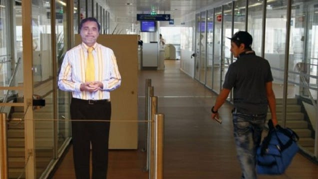 Paris Airport Gets Holographic Boarding Agents