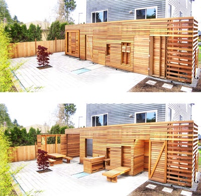 Vertical Patio Transforms To Save Precious Outdoor Space