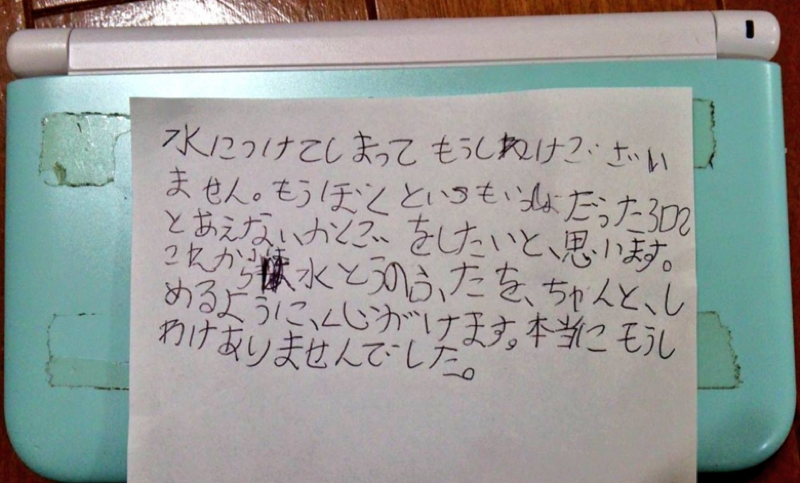 Eight-Year-Old Boy Apologizes to Nintendo