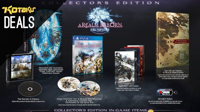 Final Fantasy XIV Collector's Edition, Burial At Sea, Humble [Deals]