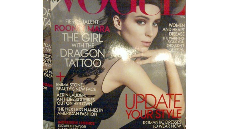 Rooney Mara's Vogue Cover Leaks
