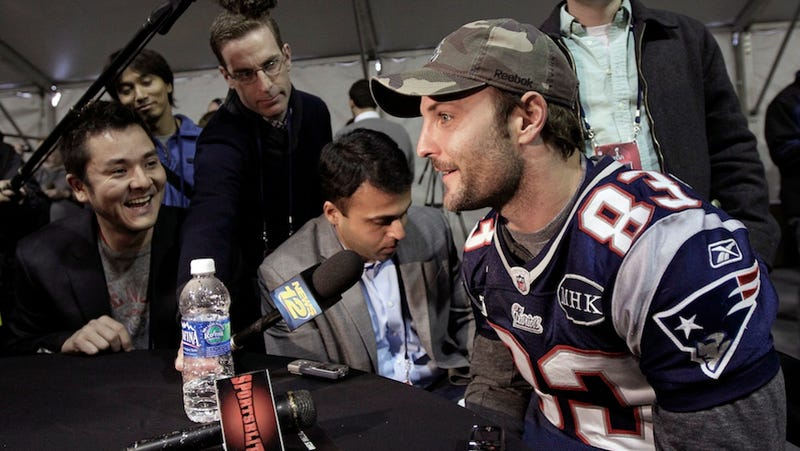 Wes Welker And Friends Went To A Wine Tasting In Aspen, Allegedly Picked A Fight With Security