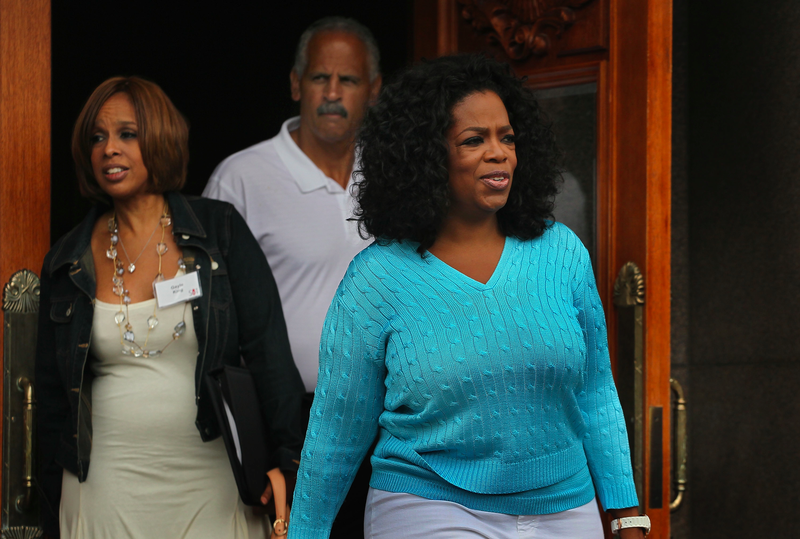 Oprah's Stepmom: Oprah and Gayle Sure Act Like More Than Friends