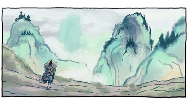 Webcomic Pang, the Wandering Shaolin Monk kicks kung fu and comedy into the aftermath of the Ming Dynasty