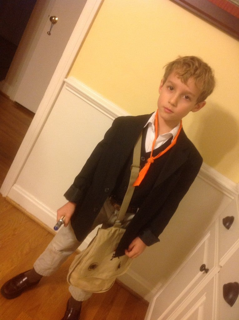 Young Who fan dresses up as all 11 Doctors without his parents' help
