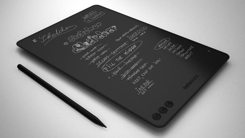 I Really Really Hope This NoteSlate Paper Tablet Is Real