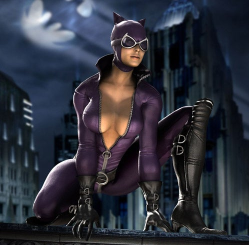 Catwoman Is A Face-Ripping Murderer In MK Vs. DC