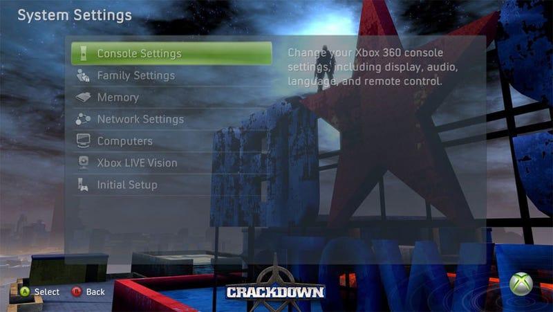 Xbox 360 Gets Crackdown Theme