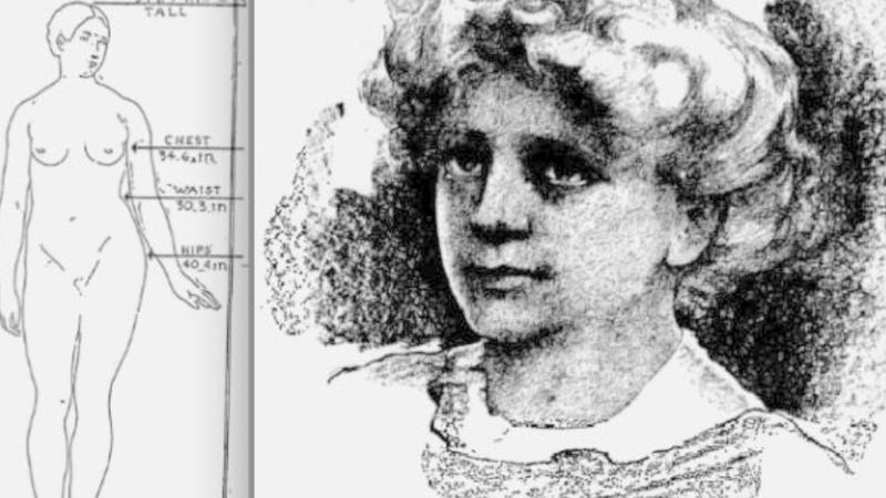 Meet 1912's Perfect Woman: Pear-Shaped, 171 Lbs, Doesn't Know Fear