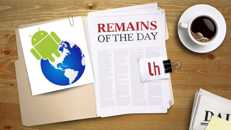 Remains of the Day: Android Can Now Recommend Apps Based on Your Location