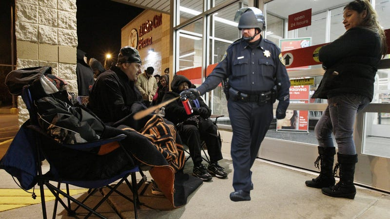 Black Friday Madness Kicks Off With Pepper Spraying, Shooting