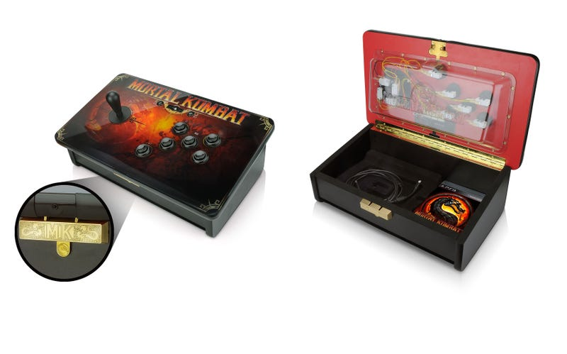Designer Makes An American Fighting Stick For An American Fighting Game