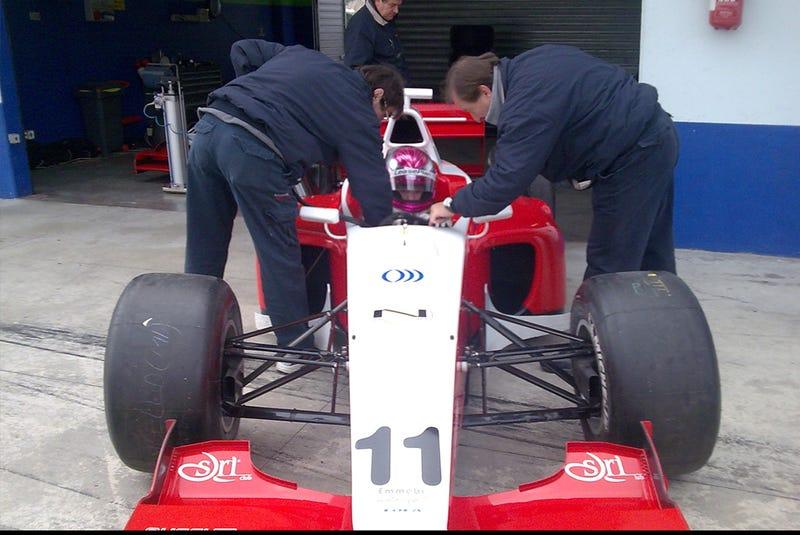 Formula 2 Series' Natacha Gachnang's The New Hotness