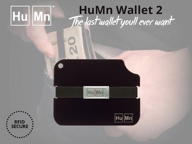 Upgrade Your Wallet With 34% Off The RFID-Secure HuMn 2