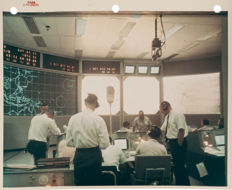 Classic Mission Control Photos Show Space Heroes On The Ground