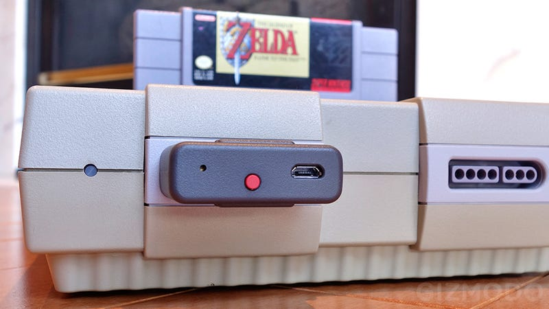 The Super Nintendo Retro Receiver Is a Painless Wireless Upgrade For Your Classic Console