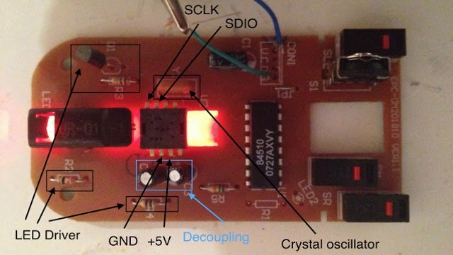 Convert a Cheap Optical Mouse Into a Robot Odometer