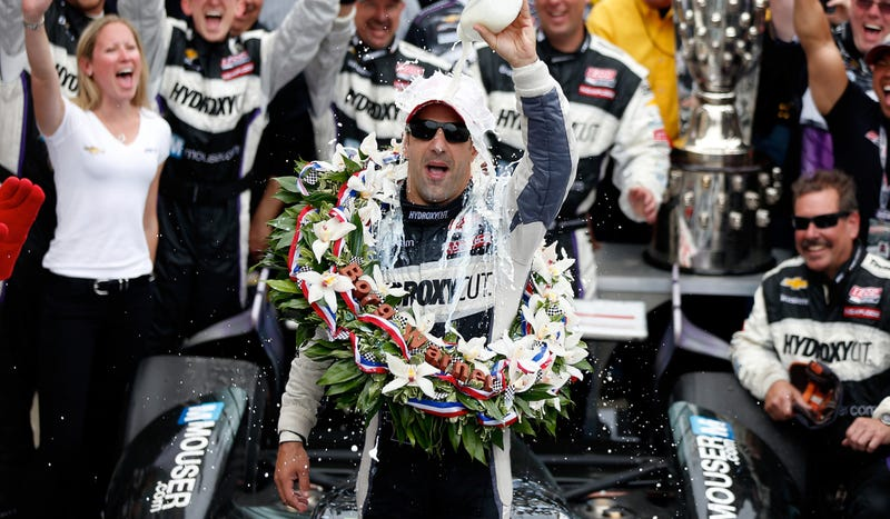 Tony Kanaan Wins A Simply Unbelievable Indianapolis 500