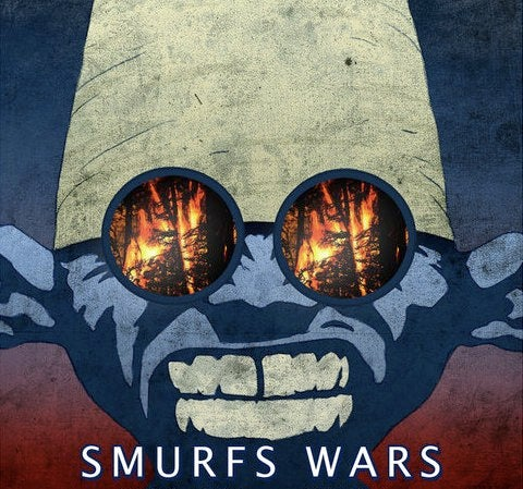 Smurf Wars: This Is The Smurfing Smurf Movie We Really Want