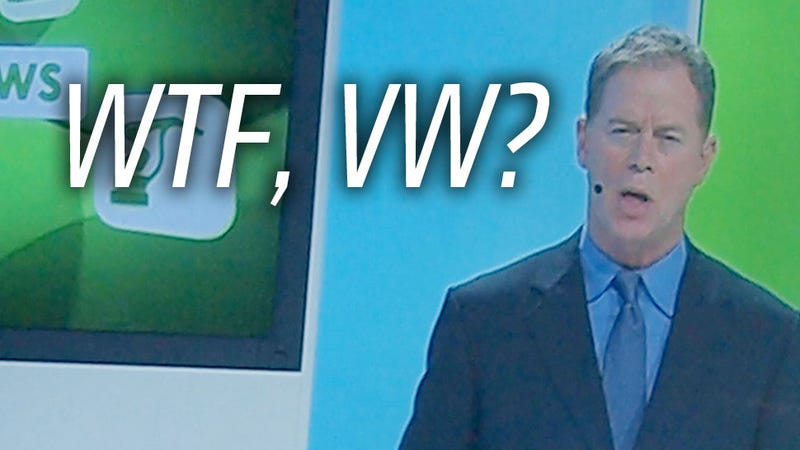 Volkswagen's Press Conference Had A Fake News Channel And It Was Dorky