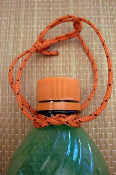 DIY Water Bottle Carrying Strap