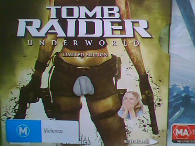 """Who Put a Dick on Lara Croft?"", and Other Great Box Art Mysteries"