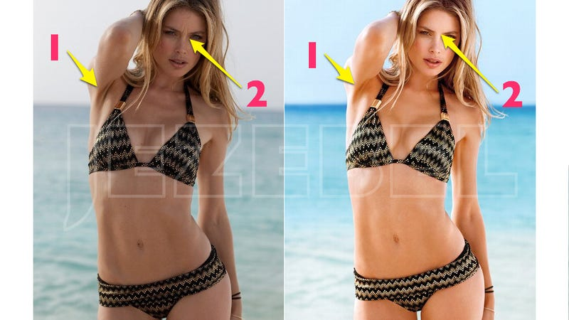 The Unretouched Images Victoria's Secret Doesn't Want You to See