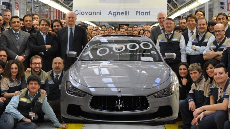 Did Maserati Photoshop This Weird Press Photo?