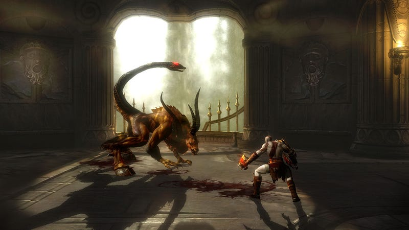 Heavenly New God Of War III Screens