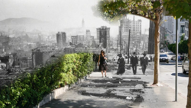 Time-Traveling Photographs Reveal History in the Present